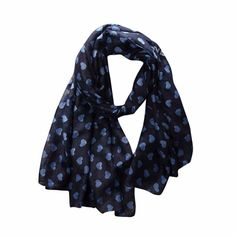 Top Quality Winter Scarf Women Ladies Love Heart Print Pattern Long Scarf Warm Wrap Shawl Luxury Brand