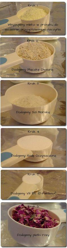 Mleczna kąpiel - milk bath