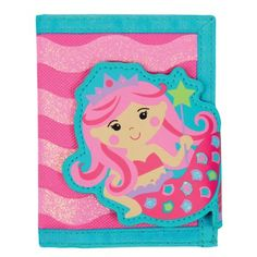Give your child somewhere cool to stash their cash with a Stephen Joseph Mermaid Wallet. Loaded with pockets to store cards and photos and topped off with a super-sweet design, this kid's wallet is sure to be a favorite with your little shopper. Buy Wallet, Purse Wallet, My Little Pony, Little Girls, Mermaid Purse, Old Bras, Wallets For Girls, Josephine Wall, Money Holders