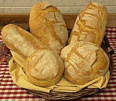 Receta de Pan Toscano