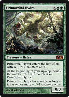Magic: the Gathering - Primordial Hydra - Magic 2012 $5.53