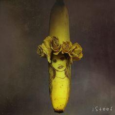 Cet artiste transforme des bananes en véritables oeuvres d'art !
