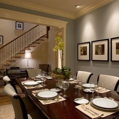 The wall color is Benjamin Moore-Shaker Beige, and  Wedgewood Grey