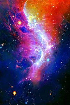 Wisp Nebula pinned with Bazaart