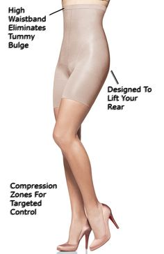 SPANX - enough said.  There's a pair of spanx for every need.  Better yet, the cheaper version called Assets at Target.