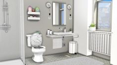 MXIMS: Lavabo Sink and Warsaw Bathroom Toilet • Sims 4 Downloads
