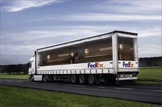 FedEx - Twice the Size of UPS #advert