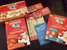 Yay for the opportunity to try a variety of #organic @horizonorganic snacks! #gotitfree #horizonsnacks