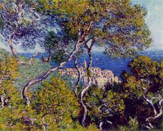 Claude Monet - Les Villas à Bordighera
