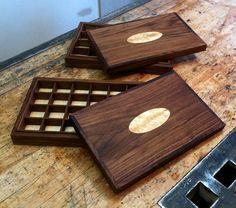 Fine Walnut Fly Storage by Craig Thomas White.  #Maine #FlyFishing #Craftsmanship