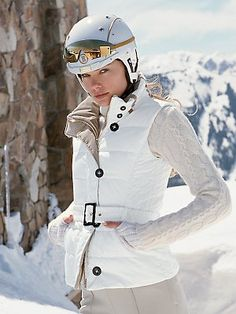 Maybe you would be more interested in skiing if you could do it in style...