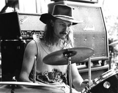 Drummer Butch Trucks | The Allman Brothers Band (May 11, 1947-January 24, 2017) He was 69 years old.