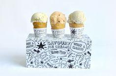 Graphical Ice Cream Holder