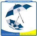 windproof golf umbrella, air vented with hole #golfumbrella