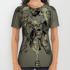 The Walking Dead Sublimation Shirt ~ $34 ~ Christmas Gift Ideas! Walking Dead Gifts, The Walking Dead, Sublime Shirt, Printed Shirts, Shirt Dress, Mens Tops, Gift Ideas, Dresses, Christmas