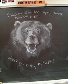 One art teacher at a middle school in Wyoming has given us some wonderful insight into exactly how it is that teachers can sometimes inspire sparks of creativity in their students. Reddit user Nate100100 shared a series of images showing the chalkboard drawings he draws for his students to show him how much can be done with the simplest materials.