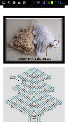 Best 12 beautiful, beautiful, christmas center in crochet. View and share – Crochet Designs Free – SkillOfKing. Crochet Diy, Crochet Amigurumi, Crochet Chart, Crochet Home, Crochet Motif, Crochet Designs, Crochet Doilies, Crochet Ideas, Crochet Christmas Decorations