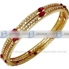 diamond bangles indian | ruby diamond bangles, indian wedding bangles pictures