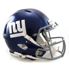 n/a New York Giants Speed Authentic Full Size Helmet Description:Get your head in the game! The Riddell® NFL® Revolution Speed helmet features team graphics on the sides, boasts a large shell construction and offers internal padding for maximum comfort. http://www.MightGet.com/february-2017-2/n-a-new-york-giants-speed-authentic-full-size-helmet.asp