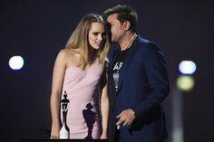Pin for Later: Petit Récap de Tout Ce Qu'il S'est Passé aux Brit Awards 2016 Suki Waterhouse et Simon Le Bon
