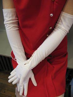 Resultado de imagen de long gloves vintage