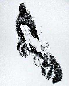 The wolf mother Mor lived with her daughter Awyr in the eastern plains. In the s… The wolf mother Mor lived with her daughter Awyr in the eastern plains. In the sun they travelled and played. In the moonlight Mor hunted… Wolf Tattoos, Body Art Tattoos, Lion Tattoo, Small Tattoos, Animal Drawings, Cute Drawings, Wolf Drawings, Horse Drawings, Pencil Drawings
