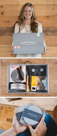 Preserve your recorded memories digitally! Fill Legacybox with your memories and we'll send it back with all of your precious moments digitally preserved on DVDs.