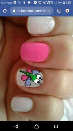 Art Tutorials, Pretty Nails, Nail Art Designs, Sari, Beauty, Finger Nails, Pretty Toe Nails, Simple Toe Nails, Cute Nails