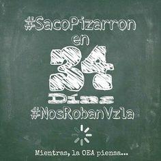 #SacoPizarron #NosRobanVzla En #34Dias TÚ #Indiferente TÚ #confundida TÚ #Opinologo TÚ #Incredulo TÚ #Cómodo #tú  NO TIENES LA OPCIÓN DE ANDAR PENSANDO ellos ganan petróleo, #NosotrosPerdemosTodo #OEAIndiferente #SOSVzla #SOSVenezuela #Venezuela #Vzla #GranTrancazo #libertad #DDHH  #represion #gobierno #EleccionesYa  @dolartoday @caraotadigotal @caricaturasvzla