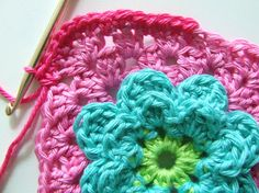 Petite Fee: Pattern Flower Granny (Flower Granny) Great share!  ☀ CQ #crochet