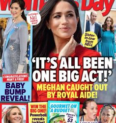 Duchess Meghan's true colours shine through as her biggest meltdown yet is caught on tape with rumours surfacing royal aides have a secret recording of her ranting about Prince William and Duchess Catherine. Meghan Markle Young, Meghan Markle Fake, Meghan Markle Style, Princess Diana Death, Princess Meghan, Royal Baby Party, Royal Baby Nurseries, Fake Baby Bump, Fake Pregnancy