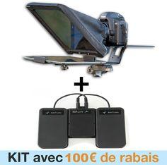 prompteur ipad : pour convertir n'importe quelle tablette ou téléphone Apple ou Android Samsung en téléprompteur... http://www.prompteuripad.com
