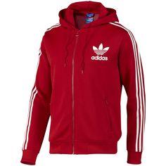 Chaqueta Adidas Original Rojo/Blanco