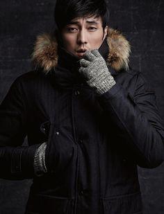 GUY CANDY: So Ji Sub is hot in Fall/Winter survival wear