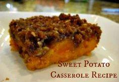 sweet potatoe casser