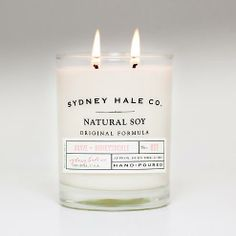 Yummy label... bet they smell good too.  Will probably buy, b/c I can't resist buying for the love of package.