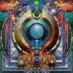 ⊰❁⊱ Mandala ⊰❁⊱  Burbujas Mandala por paxempire