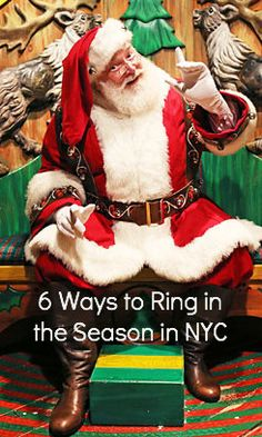 Macy's Santaland - After you've seen the windows at Macy's, take the kids to pose with pictures with the city's premier St Nick!