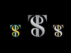 TS monogram by Tina Sharma#logo #rebranding