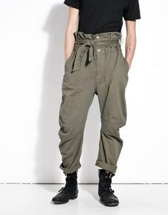 Harmon Army Fisherman Pants – Men's style, accessories, mens fashion trends 2020 Fashion Week, Fashion Pants, Mens Fashion, Fashion Outfits, Fashion Trends, Rare Clothing, High Rise Pants, Looks Style, Guy Style