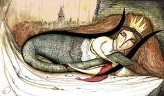 Şahmeran / Shahmaran, Queen of Serpents Magical Creatures, Beautiful Creatures, Mermaid Pictures, Mermaid Tale, Strange History, Urban Legends, High Art, Painting Lessons, Historical Pictures