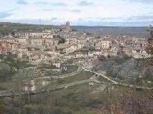Panorámica de Sepúlveda, provincia de Segovia.