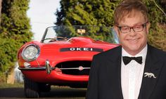 Want to drive like a Rocket Man? Elton John's classic red Jaguar E-Type is up for auction
