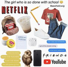 Backpacks are no longer reserved for school children. Aesthetic Fashion, Aesthetic Clothes, Aesthetic Memes, Trendy Girl, Types Of Girls, Tumblr Outfits, Just Girl Things, Girls Life, The Girl Who