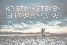 Kristin + Steven are in Love :: Shawano & Green Bay WI Wedding Photographer - Alison Kundratic Photography