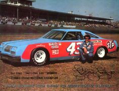 1979 Champion, Richard Petty #43 Chevy. The current record holder with 7 Championships.