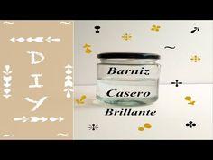 BARNIZ CASERO BRILLANTE PARA MANUALIDADES (facilísimo). - YouTube Home Made Mod Podge, Art Attak, Glue Art, Clay Stamps, Paper Mache Sculpture, Pasta Flexible, Diy Recycle, Air Dry Clay, Easy Diy Crafts