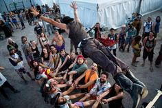 Burning Man Spawns New Age Festivals. While The Burning Man, a feather and leather festival that just celebrated their 28th year last month in the Nevada desert, allows inspiration to flow for more commercialized environments and festivals for younger generations to attend. Hannah L.