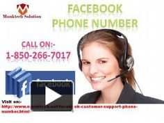 Can I place a call at Facebook Phone number to get one stop resolution? 1-850-266-7017
