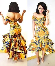 Creative Ankara Gown Style for Ladies - DeZango Fashion Zone